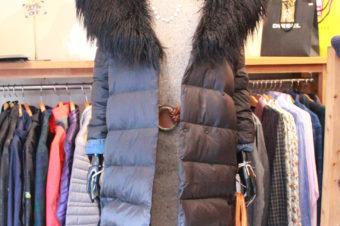 Ralph Lauren/Fake Fur Down Coat/Black/27,540