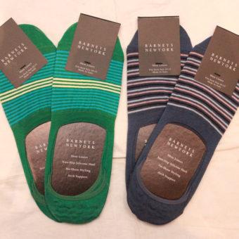 BARNEYS NEWYORK/No Show Socks/border/2,700