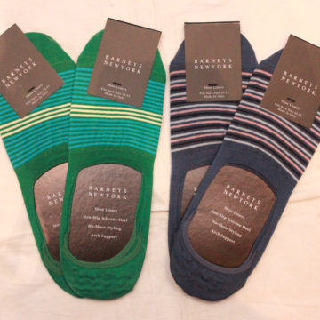 BARNEYS NEWYORK/No Show Socks/border/2,700
