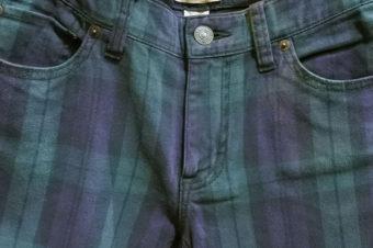 Denim&Supply/Black Watch Skinny Pants/11,340