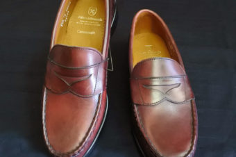 Allen Edmonds/Cavanaugh/Penny Loafers/Oxblood/54,000