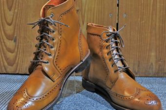 Allen Edmonds/Wingtip Boots/Dalton/Walnut/86,400