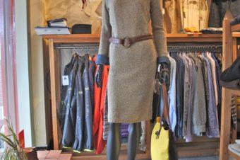 Ralph Lauren/Wool Turtle Knit Dress/Beige/19,278