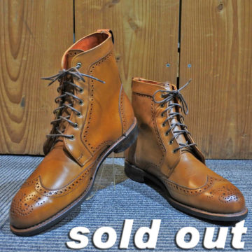 Allen Edmonds/Wingtip Boots/Dalton/Walnut/86,400