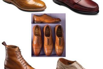 夏を飾るアレンエドモンズという靴