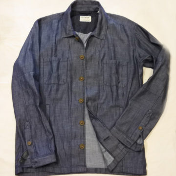 FIL NOIR/SHAMBRAY SHIRTS JACKET/23,760