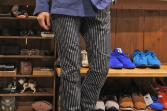 G-STAR RAW/DOT STRIPE PANTS/19,440