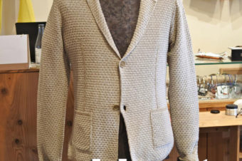 HAMAKI-HO/KNIT TAILORED JACKET/23,760