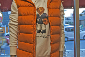 RALPH LAUREN/POLO BEAR HOODED SWEAT/17,280