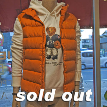 RALPH LAUREN/POLO BEAR HOODED SWEAT/19,440