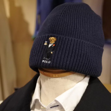 RALPH LAUREN/POLO BEAR/COTTON KNIT CAP/7,020/R-4-051