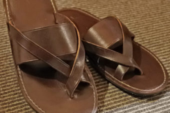 RRL/LEATHER SANDALS/22,680