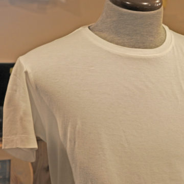 RRL/EMBROIDERY Tee/WHITE/10,800