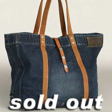 RRL/Murphy Tote Bag/Denim/48,600