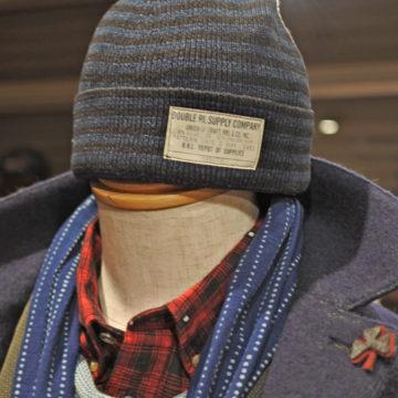 RRL/INDIGO KNIT CAP/14,580