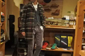 お気に入りコートは