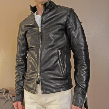 ALLSAINTS/SINGLE RIDERS LEATHER JACKET/88,000