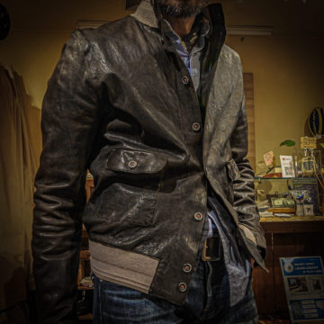 STILL US/RAM LEATHER JACKET/102,300