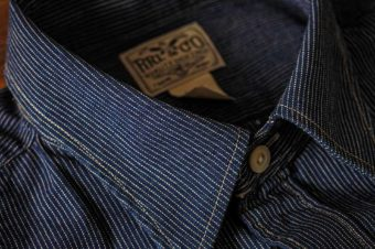 RRL/STRIPE DENIM SHIRTS/33,000