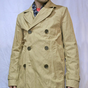 Banana Republic/Washed Metal Fiber Coat/Beige/27,594