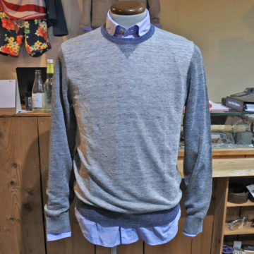 ARMANI EXCHANGE/A|X/LINEN NYLON KNIT/11,880