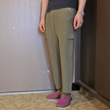 ALLSAINTS/VISCOSE SILK/CARGO PANTS/16,200