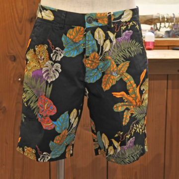 SCOTCH&SODA/BOTANIC ANIMAL STRETCH SHORTS/17,280