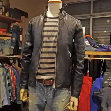 ALLSAINTS/SINGLE RIDERS LEATHER JACKET/86,400