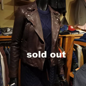 ALLSAINTS/W RIDERS JACKET/66,000