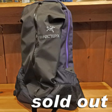 ARC'TERYX/ARRO 22 BACKPACK/25,920