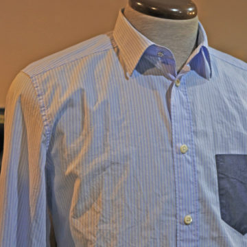 DIESEL/STRIPE POCKET SHIRTS/15,120