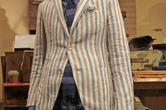 giacche/LINEN STRIPE JACKET/68,040