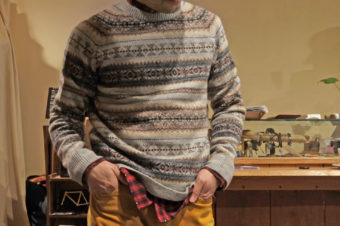 J.CREW/FAIR ISLE WOOL SWEATER/12,960