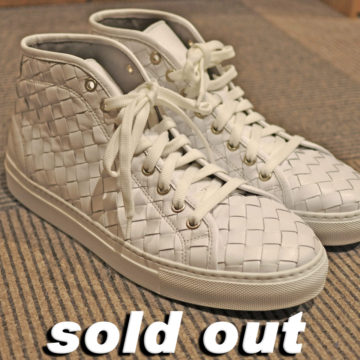 BOEMOS/LEATHER MESH SNEAKER/37,800