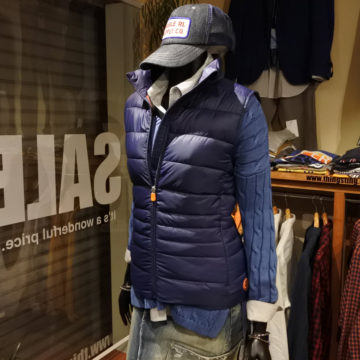 SAVE THE DUCK/PUFF VEST/17,280/OB-2-153