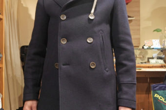CAMPLIN/RAIN WOOL PEACOAT/89,100
