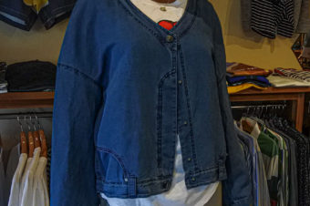 crea concept/DENIM CARDIGAN/47,300→39,600