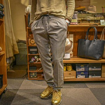 BRO SHIP/STRETCH SPINDLE PANTS/25,300