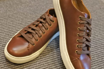 RALPH LAUREN/LEATHER SNEAKER/17,280