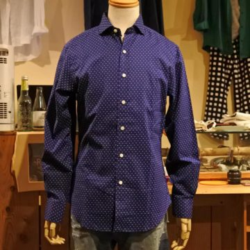 RALPH LAUREN/DOT COTTON SHIRTS/11,880