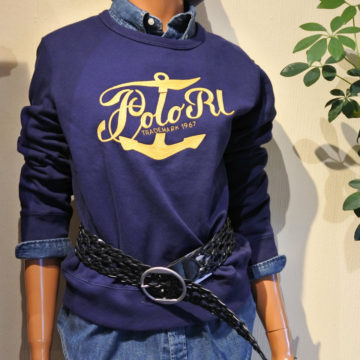 RALPH LAUREN/LADY 刺繍SWEAT SHIRTS/12,960