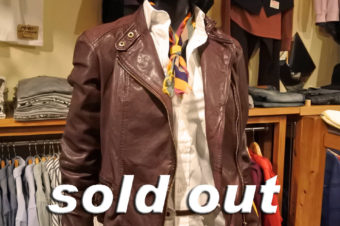 RALPH LAUREN/W RIDERS LEATHER JACKET/48,600