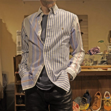 RALPH LAUREN/CRAZY COTTON STRIPE SHIRTS/17,280