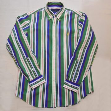 RALPH LAUREN/COTTON STRIPE SHIRTS/12,960