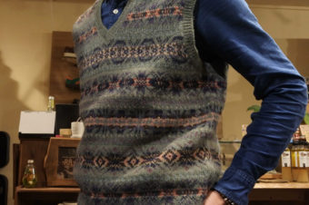 RALPH LAUREN/FAIR ISLE WOOL VEST/14,850