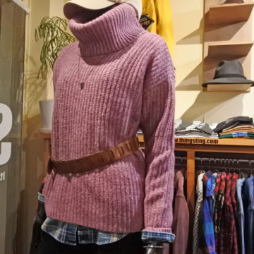 RALPH LAUREN/WOOL TURTLE SWEATER/14,300→10,010