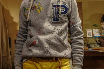 RALPH LAUREN/PRINTED SWEAT HOODY/25,300