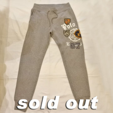 RALPH LAUREN/WAPPEN SWEAT PANTS/17,280