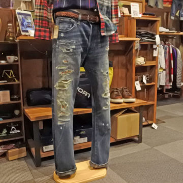 RALPH LAUREN/NATIVE REPAIR JEANS/24,200