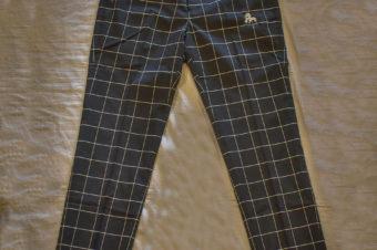 rlr/STRETCH CHECK PANTS/12,100